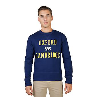 Oxford University Sweater men Blue