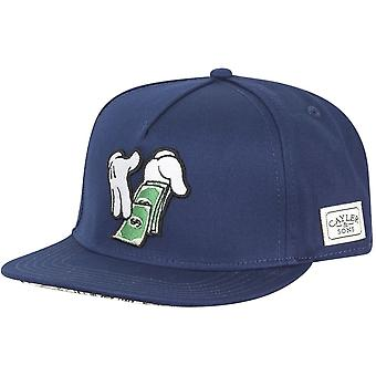 Cayler & sons Snapback Cap - MAKE IT RAIN navy