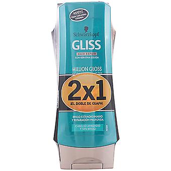 Schwarzkopf Professional Gliss Pack 2 miljoner Gloss Conditioner delar