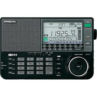 International Short Wave Sangean ATS-909 X AUX, KW, LF/VLF, AM, FM Black