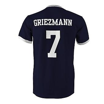 Antoine Griezmann 7 France Country Ringer T-Shirt