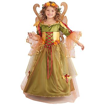 Forest Fairy Queen Pixie Fairytale boek Week meisjes kostuum