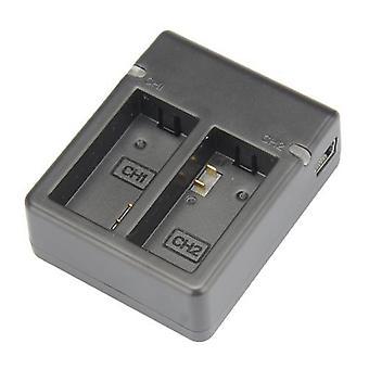 Dot.Foto Dual USB Battery Charger for GoPro HD HERO3, HERO3+ camera and GoPro AHDBT-201, AHDBT-301, AHDBT-302
