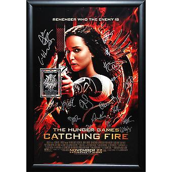 Hunger Games Catching Fire - firmato Poster del film