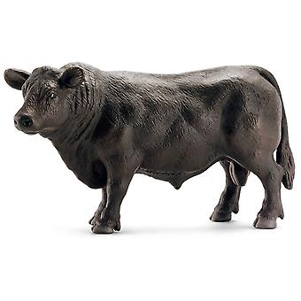 Schleich Black Angus Bull (Toys , Dolls And Accesories , Miniature Toys , Animals)