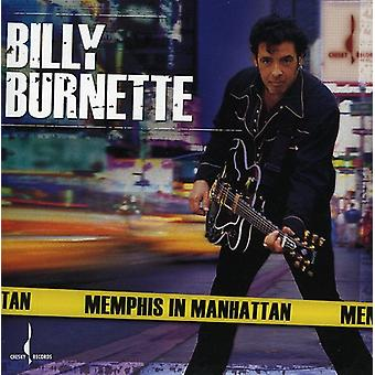 Billy Burnette - Memphis en importación de Estados Unidos Manhattan [CD]