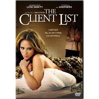 The Client List [DVD] USA import
