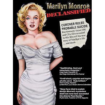 Marilyn Monroe Declassified [DVD] USA import