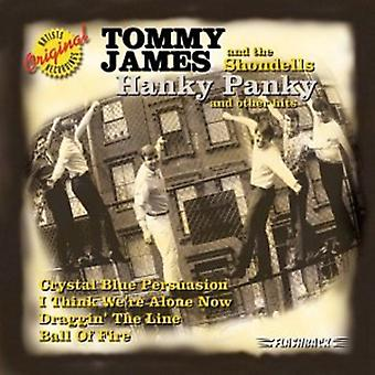 Tommy James & Shondells - Hanky Panky [CD] USA importerer