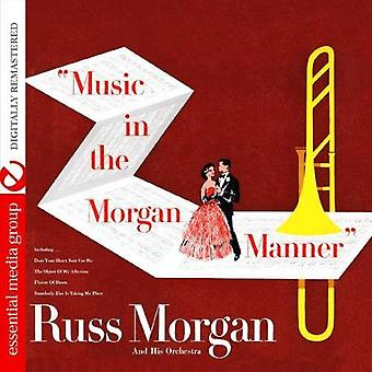Russ Morgan - música en la importación de los E.e.u.u. de Morgan Manner [CD]