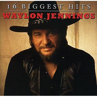 Waylon Jennings - 16 Biggest Hits [CD] USA import
