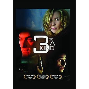 3 af en slags [DVD] USA importerer