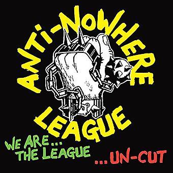 Anti-Nowhere League - wir sind der Liga... Ungeschnitten [CD] USA import