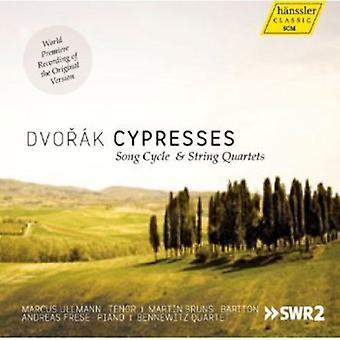 A. Dvorak - Dvor K: Cypresses Song Cycle & String Quartets [CD] USA import
