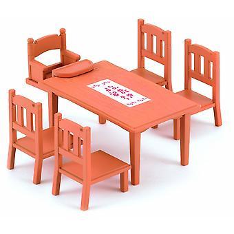 Sylvanian семей семьи стол и стулья