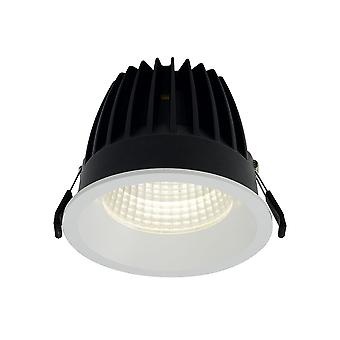 Ansell enhed 125 LED Downlight 18W, 4K, digitale Dimming + nødsituation