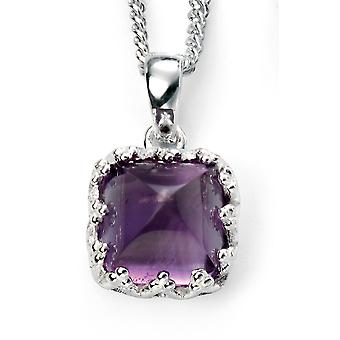 925 Silver Amethyst Necklace Trend