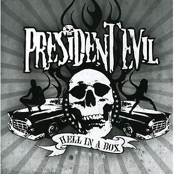 President Evil - Hell in a Box [CD] USA import