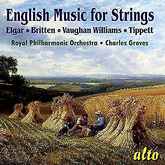 Royal Philharmonic Orchestra Charles Gr - English Music for Strings [CD] USA import