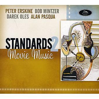 Standarder 2-film musik - standarder 2-film musik [CD] USA importerer