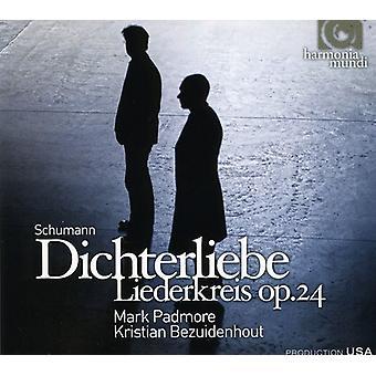 Schumann/Lachner - Schumann: Dichterliebe; Liederkreis [CD] USA importar