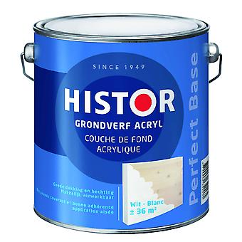 Histor Perfect Base grondverf acryl wit 250 ml