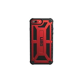 UAG iPhone 8/7/6S, Monarch Cover, red/black
