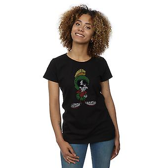 Looney Tunes Women's Marvin The Martian Pose T-Shirt