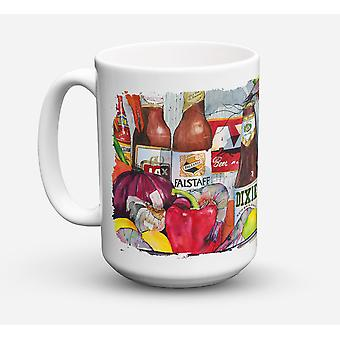 New Orleans öl och kryddor diskmaskin kassaskåp Microwavable kaffe Keramikmugg 15