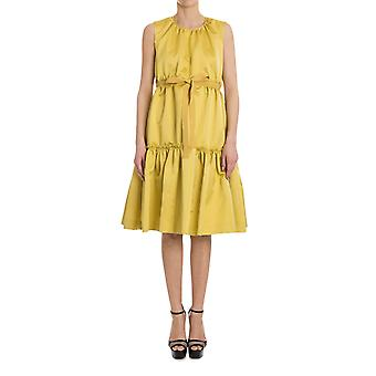 Rochas ladies RK440100A730 yellow polyester dress