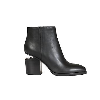Alexander Wang women's 306108001 black leather ankle boots