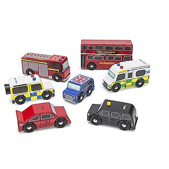 Le Toy Van London Car Set Toy