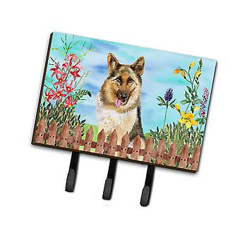 Carolines Treasures  CK1216TH68 German Shepherd Spring Leash or Key Holder