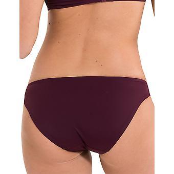 LingaDore 2911B-147 Women's Journey Vignetto Red Solid Colour Swimwear Beachwear Bikini Bottom