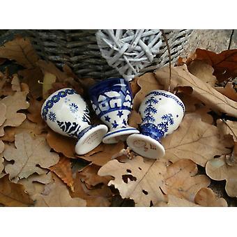 3 set egg cups, height 6 cm, winter - BSN 92040