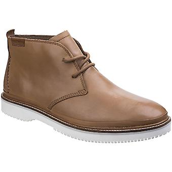 Hush Puppies Mens Fredd Bernard Lace Up Cushioned Leather Chukka Boots