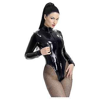 Westward Bound Gwendoline Latex Rubber Leotard.