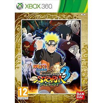 Naruto Ultimate Ninja Storm 3 fuld Burst (Xbox 360)