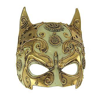 Fantaisie or adulte Halloween Steampunk diable masque