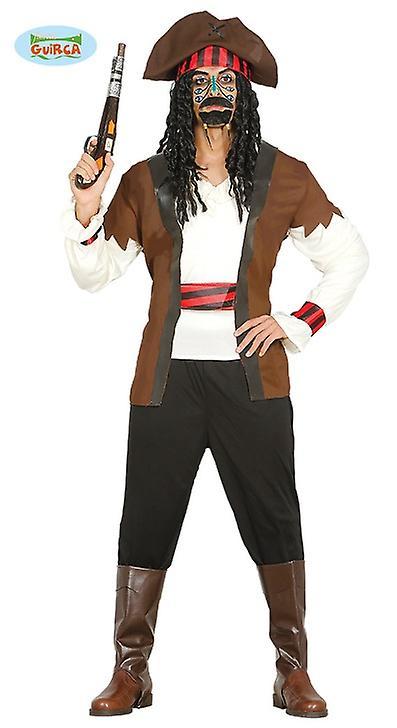 Pirat der sieben Meere Seemann Matrosen Kostüm Herren Piratenkostüm
