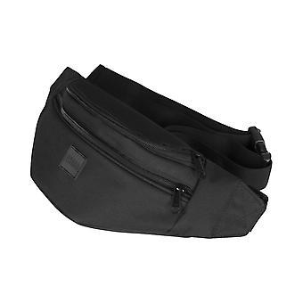 Urban classics - shoulder double-zip bag black