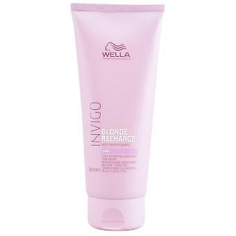 Wella Professionals Invigo Blonde Recharge Color Refreshing Conditioner #Cool