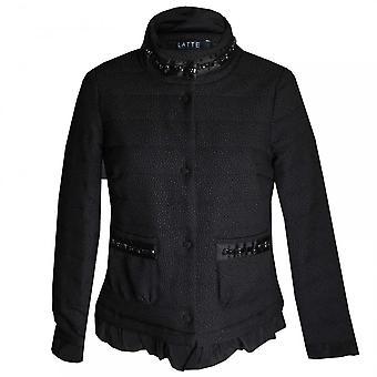 ラテのパッド入り長袖ジャケット