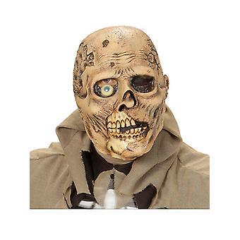 One-Eyes Zombie vollen Kopf Maske