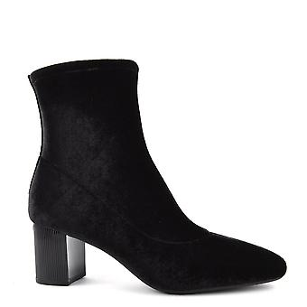 MICHAEL by Michael Kors Palomar Black Stretch Velvet Boot