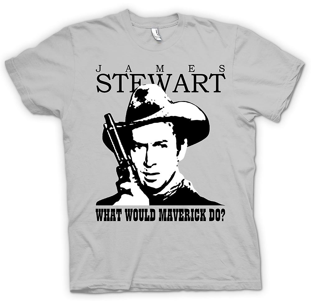 Herr T-shirt - James Stewart - Maverick Cowboy