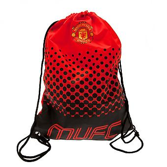 Manchester United FC Fade Design Drawstring Gym Bag