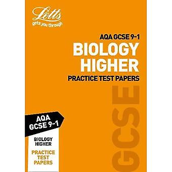 AQA GCSE Biology Higher Practice Test Papers - Letts GCSE 9-1 Revision Success (Paperback)