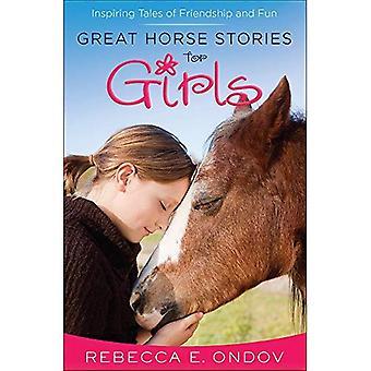 Stor häst berättelser för flickor