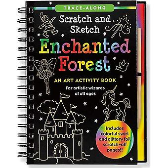 Enchanted Forest Scratch and Sketch